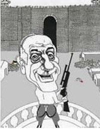 Olmert's cartoon