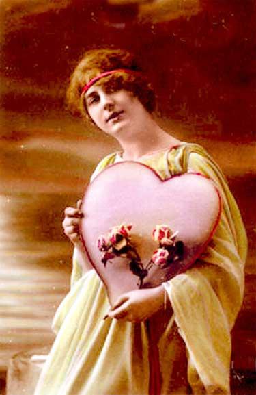 Valentine's Day postcard, circa 1910